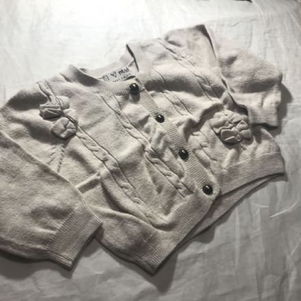 3-6 Month Biscuit Cardigan